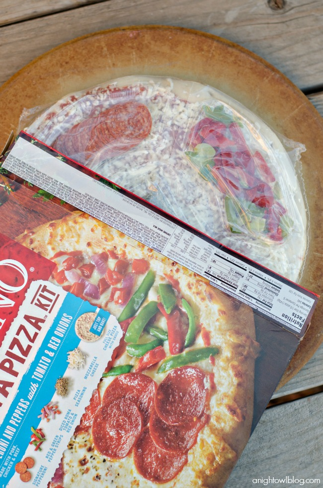 Family Pizza Night made easy with DiGiorno® Design A Pizza™ kits!