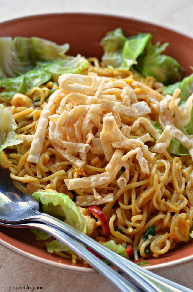 Chiang Mai Curry Noodles with Chicken