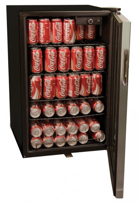 Haier 150-Can Capacity Beverage Center