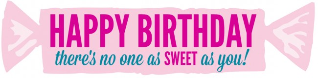 Happy Birthday Sweets Free Printable