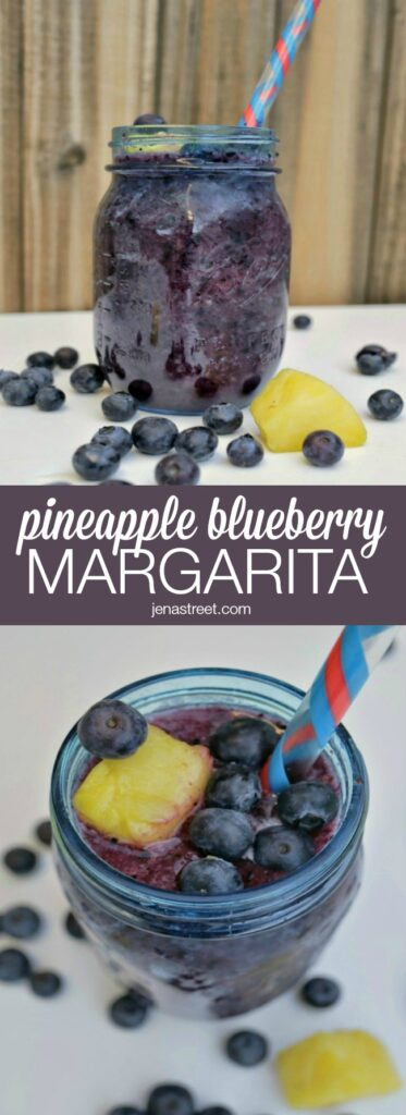 Pineapple Blueberry Margarita