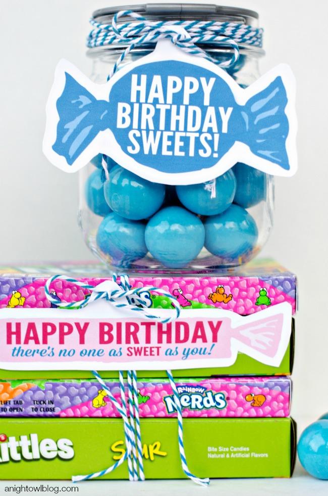 Sweet Birthday Gift Ideas