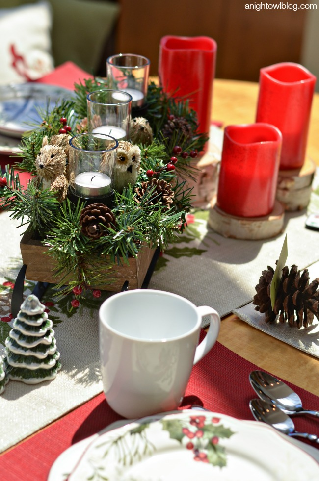 Christmas Holiday Table | Better Homes and Gardens products available at Walmart
