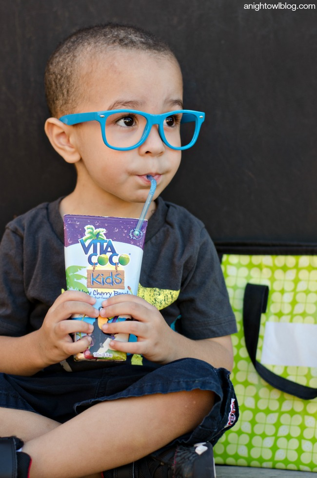 Back to School Lunch Ideas with Vita Coco Kids! #HydrationEducation