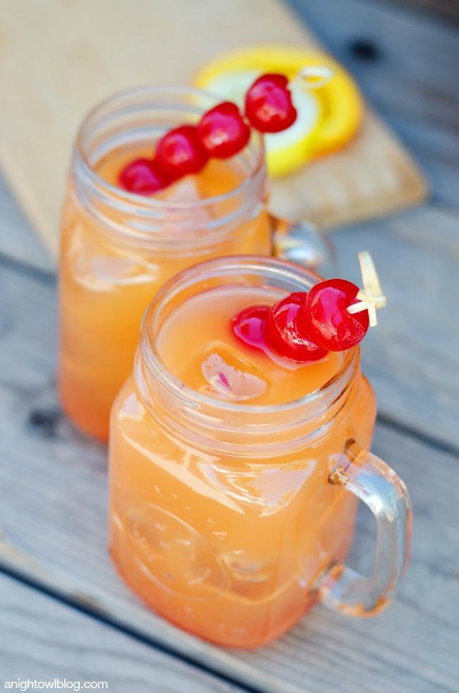 Coconut Rum Punch | anightowlblog.com