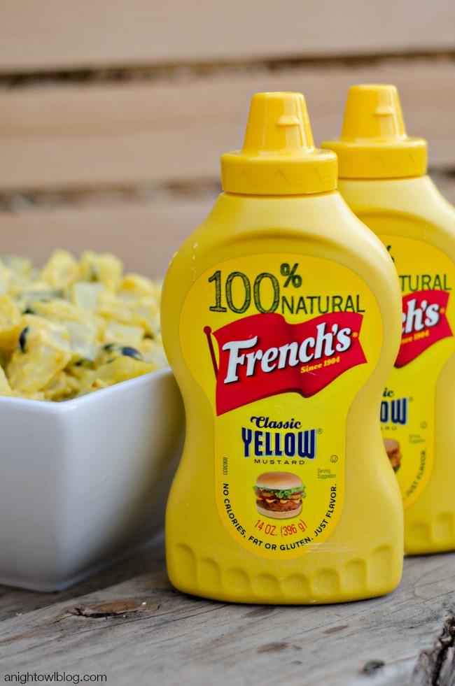 French's Yellow Mustard #NaturallyAmazing