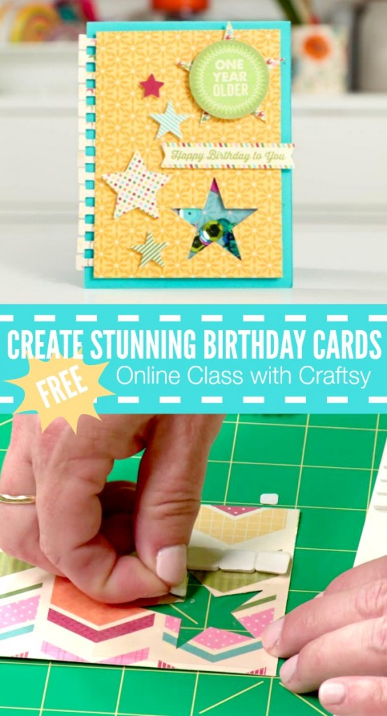 Craftsy Create Stunning Birthday Cards | anightowlblog.com