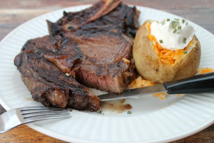 Balsamic Whiskey Marinated Steak 5
