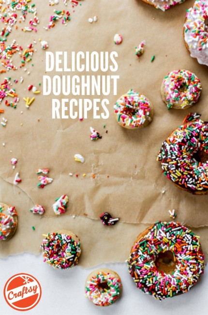 Delicious Doughnut Recipes | FREE #Craftsy eGuide!