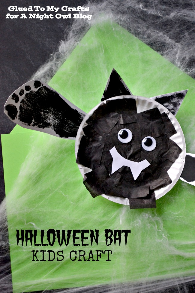 Halloween Bat Kids Craft | anightowlblog.com