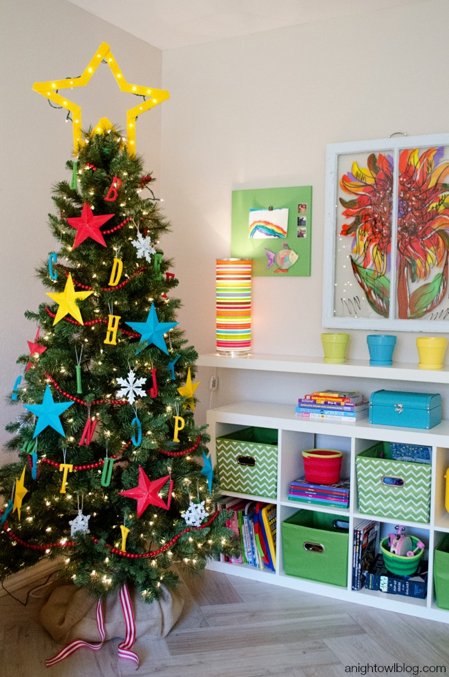 ABC Kids Christmas Tree | anightowlblog.com