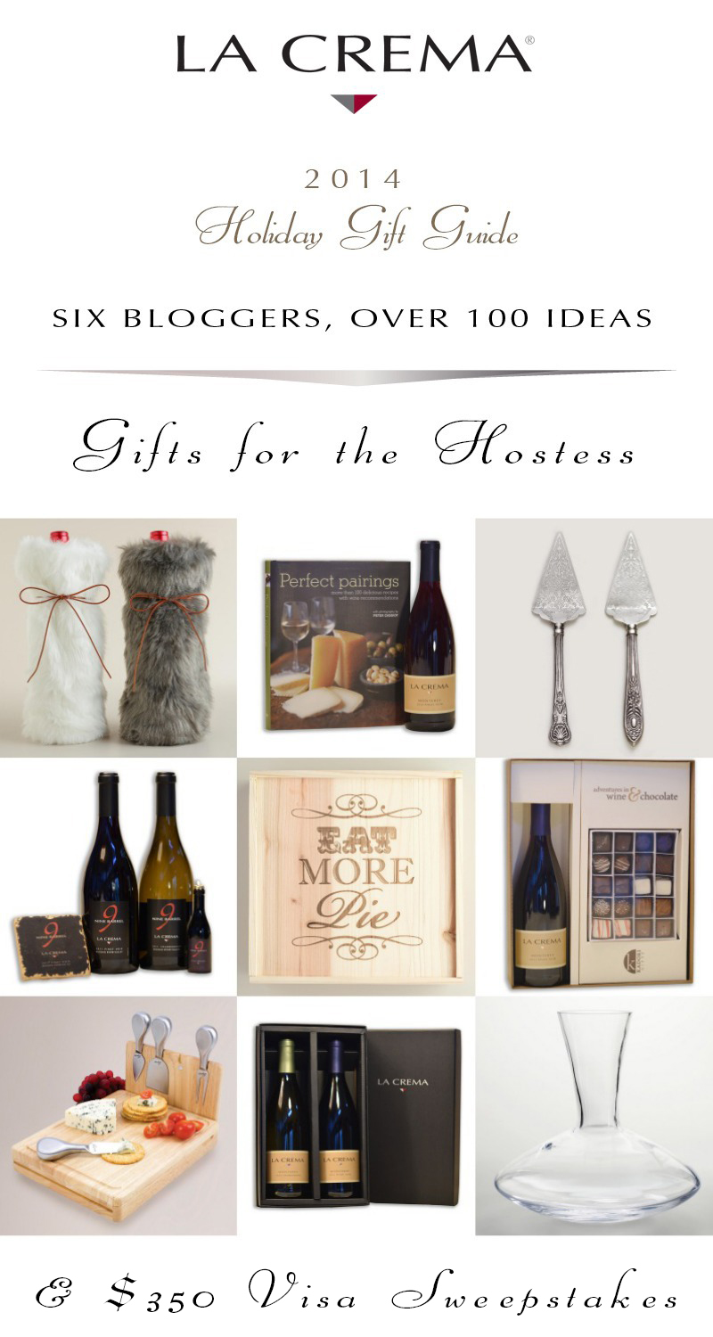 Gifts for the Hostess | La Crema Holiday Gift Guide