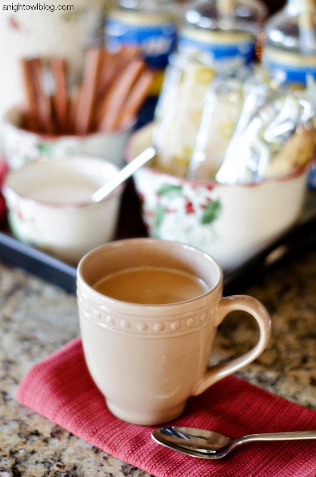 Holiday Coffee Bar with Better Homes and Gardens   anightowlblog.com