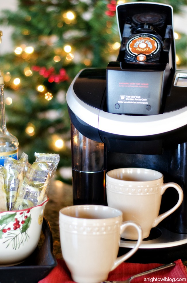 Holiday Coffee Bar with Better Homes and Gardens | anightowlblog.com