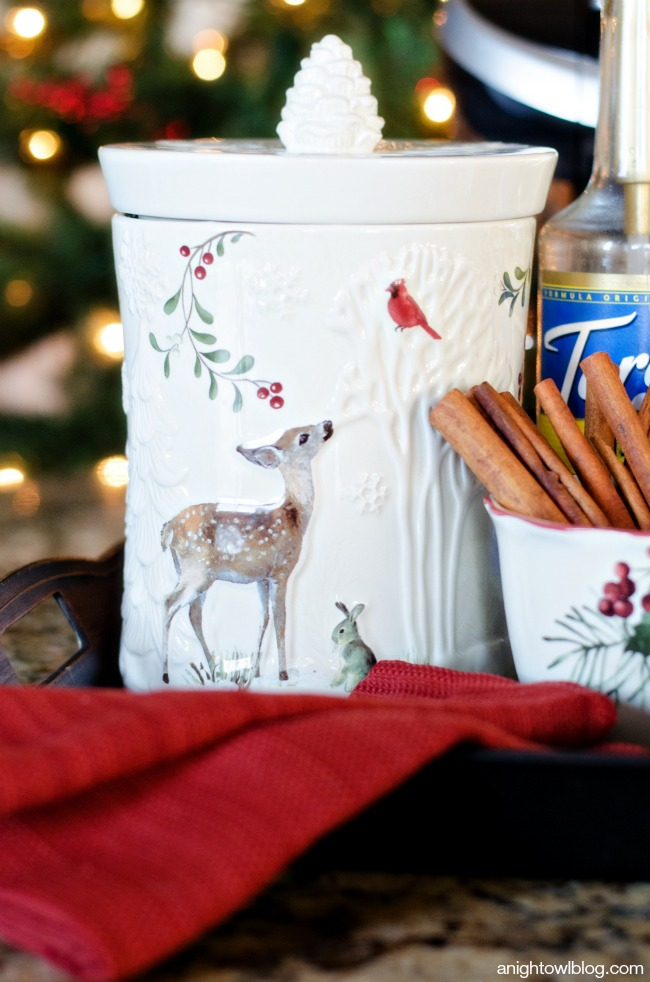 Holiday Coffee Bar with Better Homes and Gardens