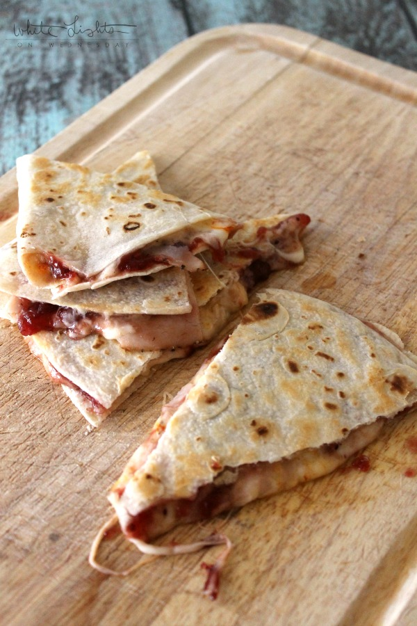 Turkey Cranberry Quesadilla 3