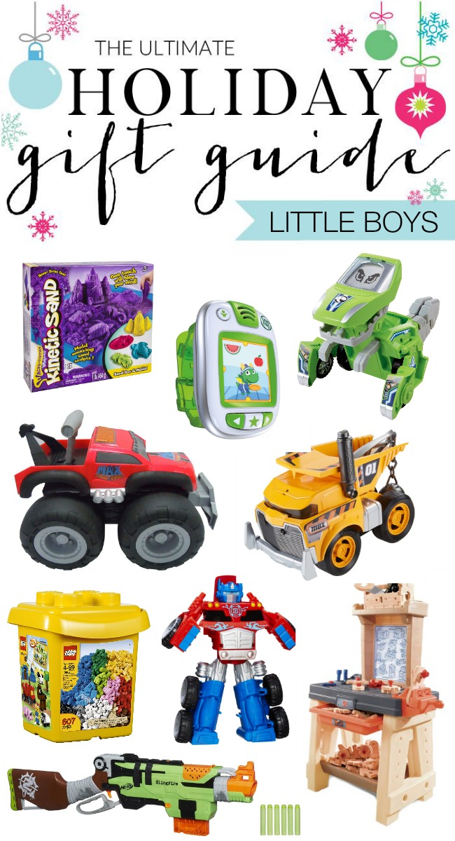 Ultimate Holiday Gift Guide - 30+ Gifts for Little Boys
