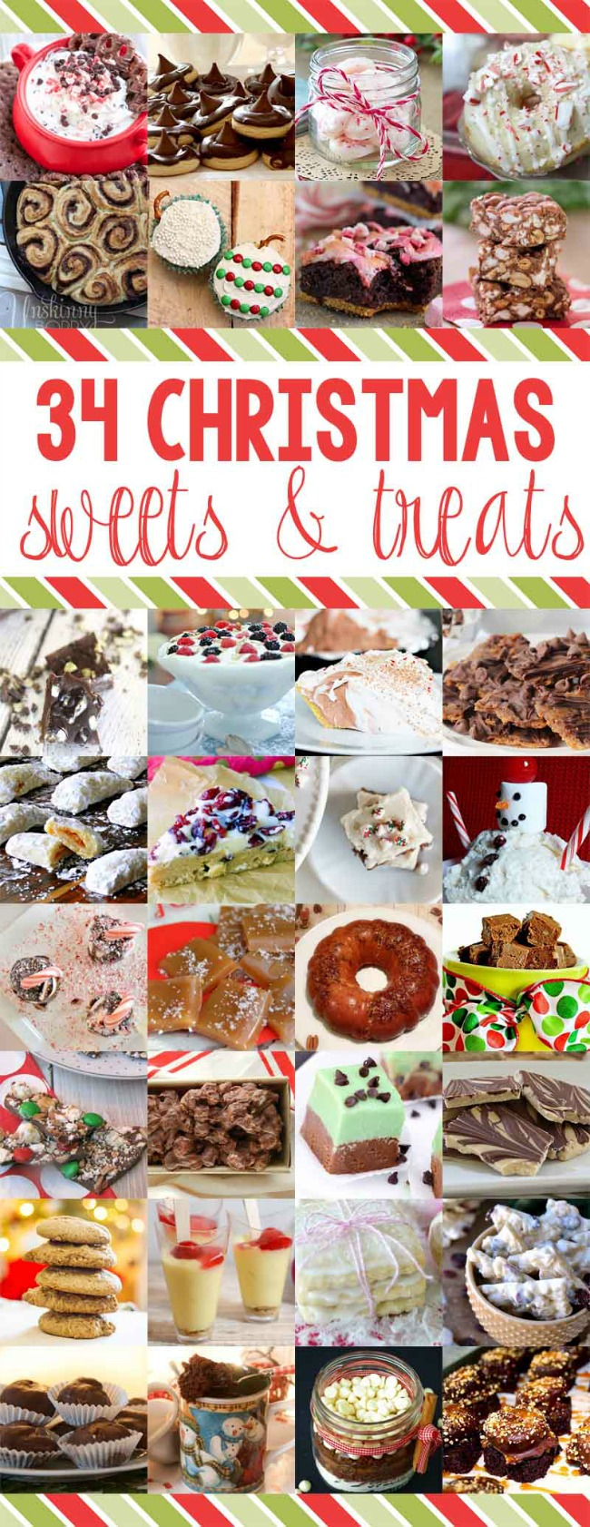 34 Christmas Sweets and Treats | anightowlblog.com