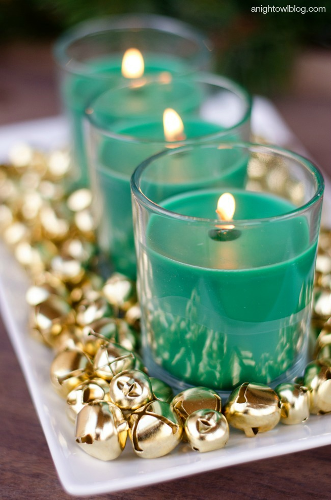 Easy Christmas Centerpiece | anightowlblog.com