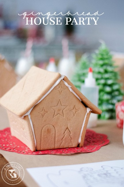 Gingerbread House Party | anightowlblog.com