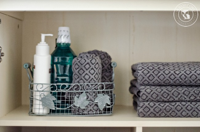 Linen Organization with Sauder | anightowlblog.com