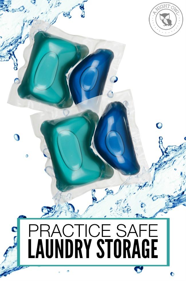 Tips to practice safe laundry storage   anightowlblog.com