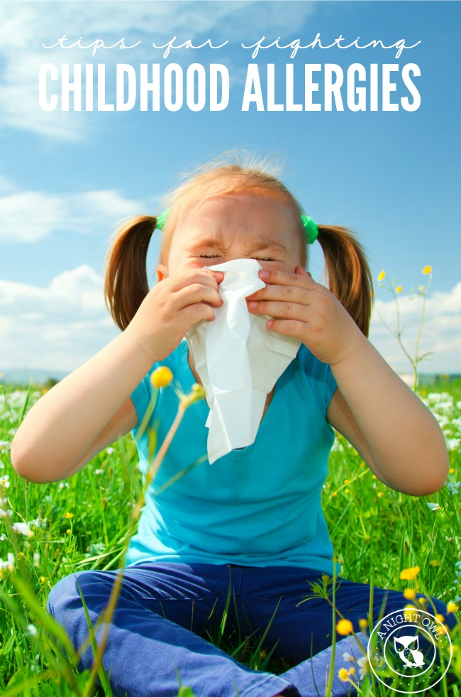 Tips for Fighting Childhood Allergies | anightowlblog.com