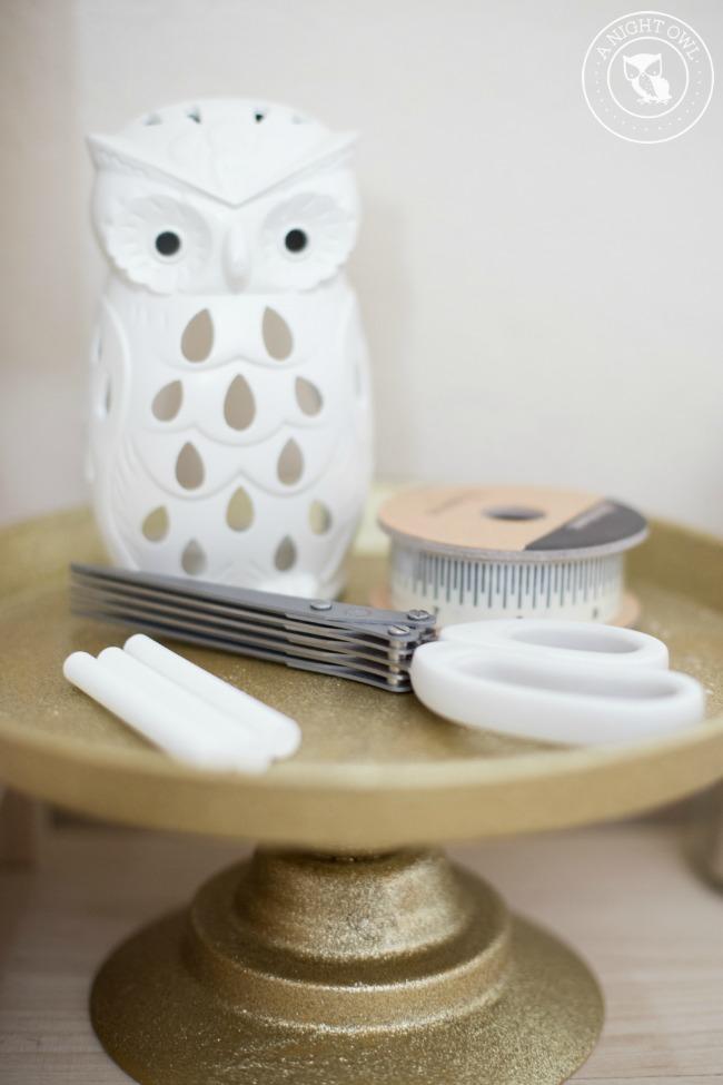 Easy Craft Room Organization Ideas | anightowlblog.com