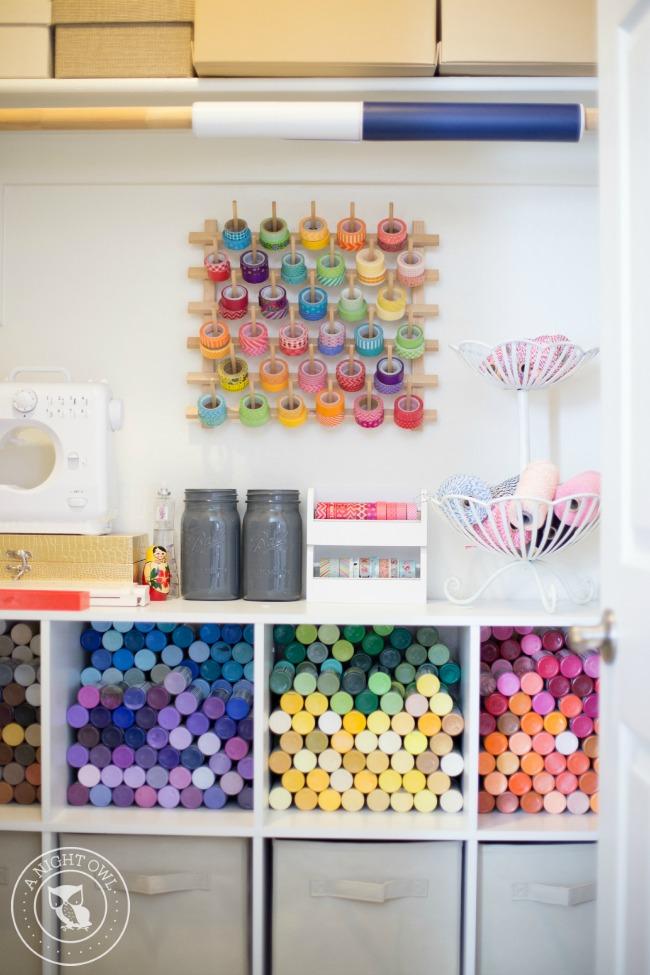 Easy Craft Room Organization Ideas A Night Owl Blog