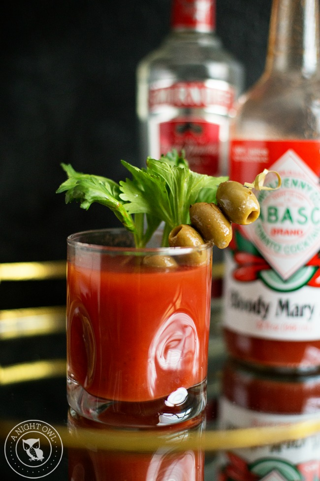 Grand Budapest Bloody Mary | Oscars Cocktail Party