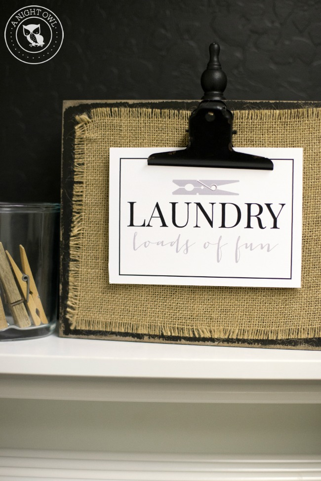 Stylish Laundry Room Storage Ideas | anightowlblog.com