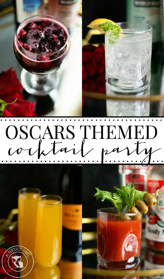 Oscars Cocktail Party | anightowlblog.com