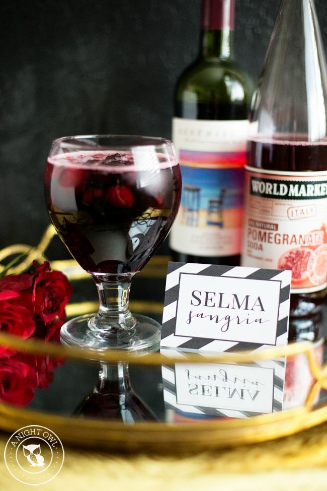 Selma Sangria | Oscars Cocktail Party