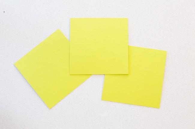 DIY Spring Paper Table Runner | anightowlblog.com
