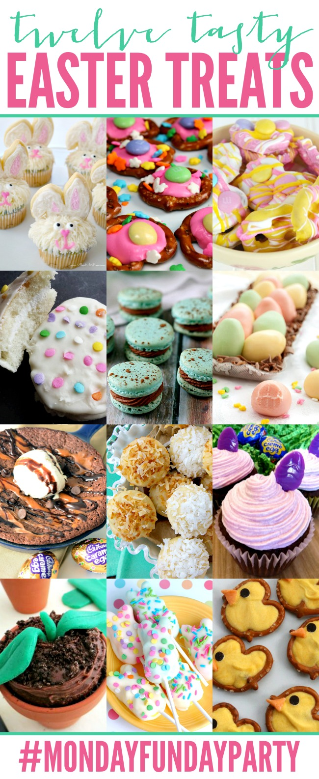 12 Tasty Easter Treats | #MondayFundayParty