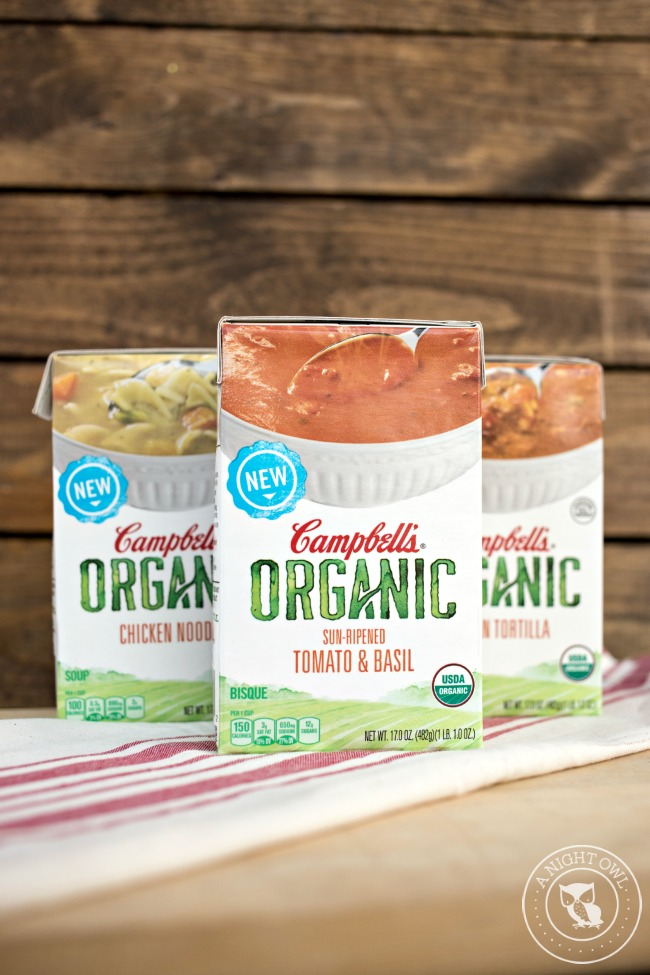 Campbell's Organic Soups