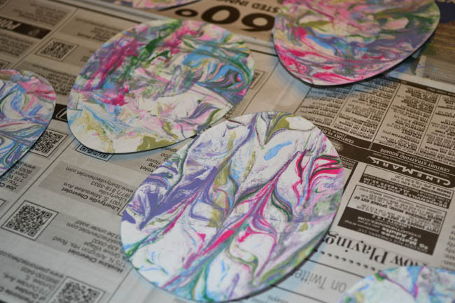 Marbled Painted Easter Eggs-5