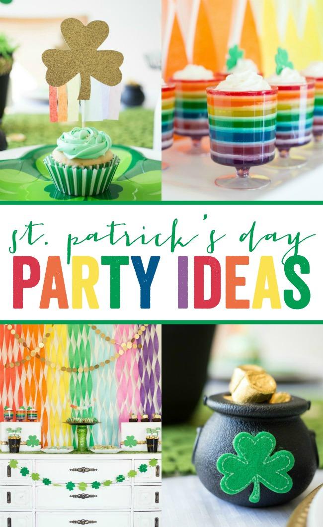 St Patricks Day Party Ideas A Night Owl Blog