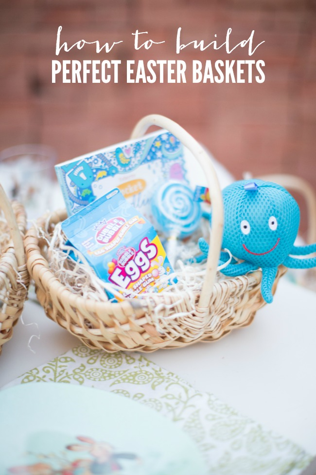 How to Build Perfect Easter Baskets | anightowlblog.com