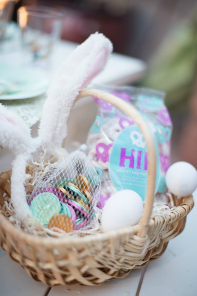 Bunny Themed Easter Basket | anightowlblog.com