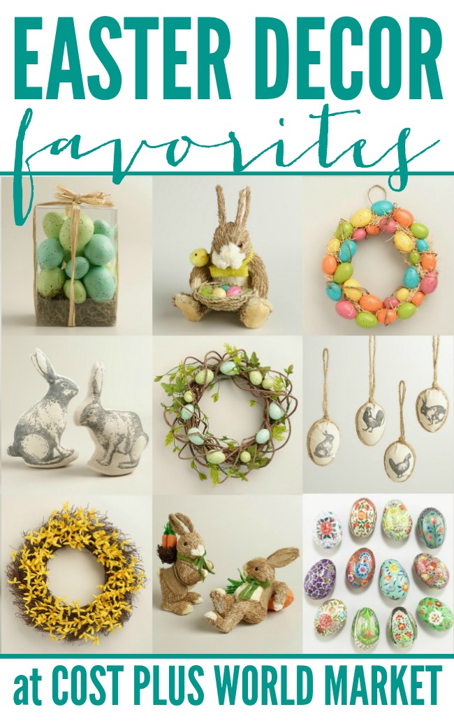 Easter Decor Favorites at Cost Plus World Market