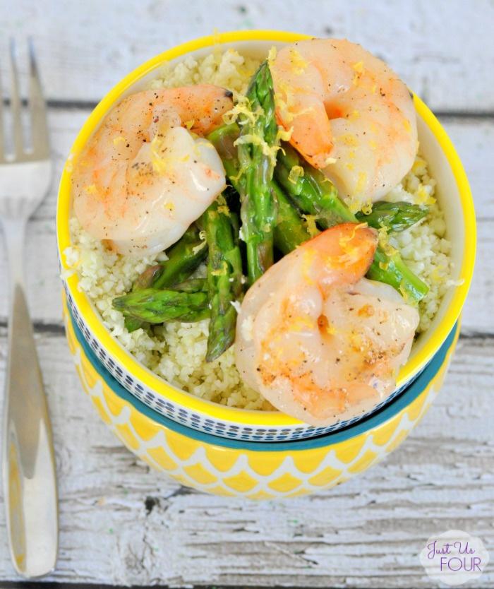 Lemon Shrimp Stir Fry