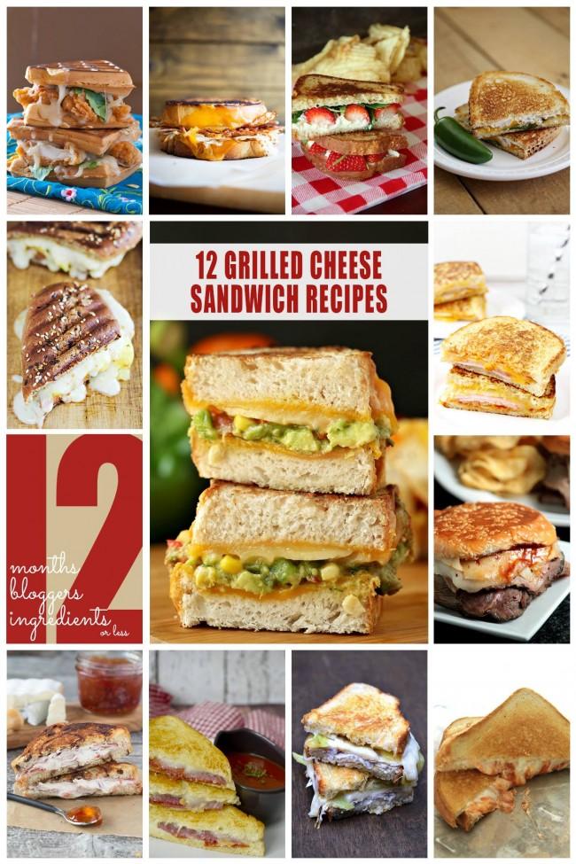 Grilled Cheese Recipes | anightowlblog.com