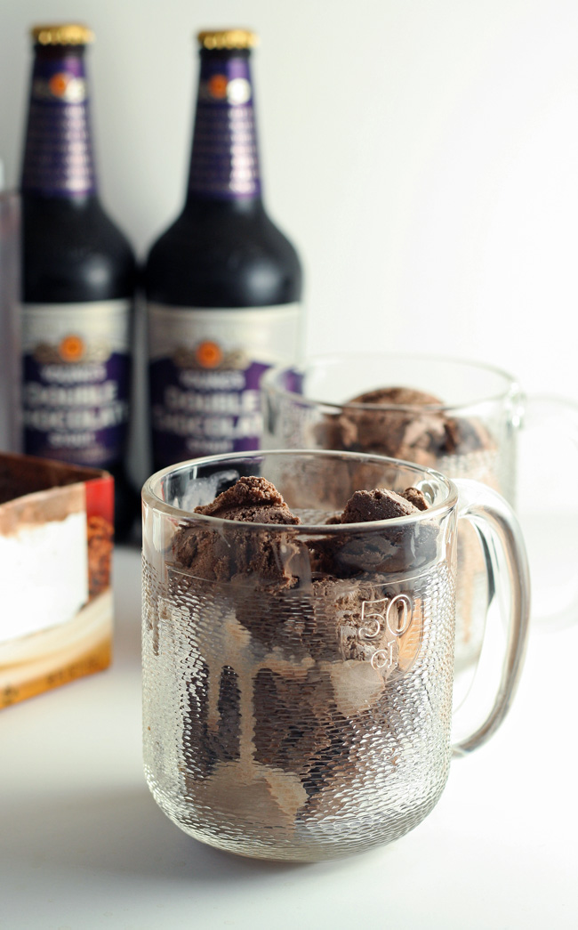 These Triple Chocolate Stout Floats are man's version of a root beer float!
