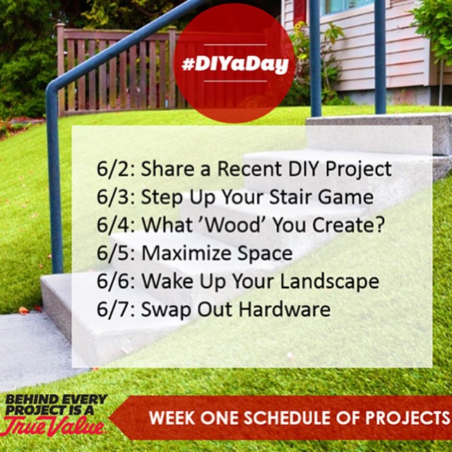 True Value DIY Challenge Week 1