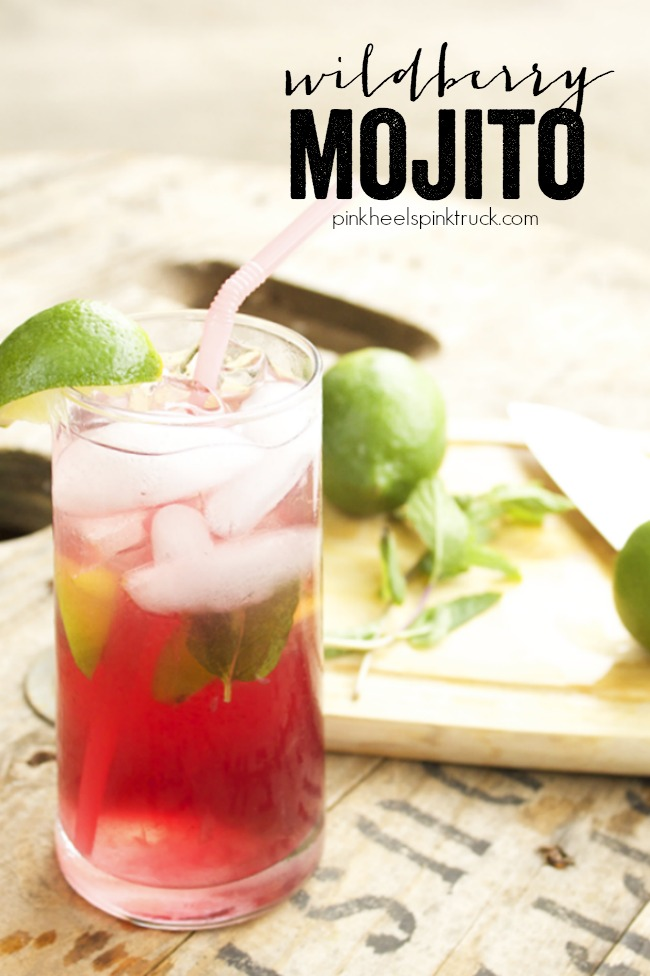 Wildberry Mojito - a delicious combination of classic mojito flavors with Pama Liquor, Blackberry and Dragon Berry.