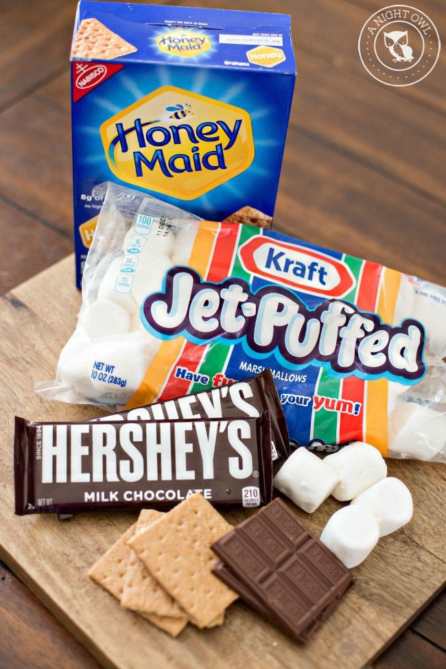 How to Make Indoor S'mores 1