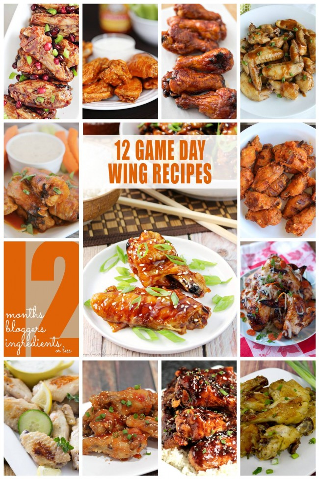 So many amazing wing recipes, perfect for game day!