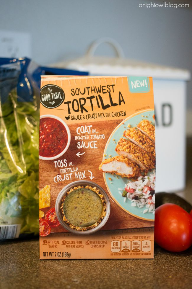 Southwest Tortilla Mix from The Good Table