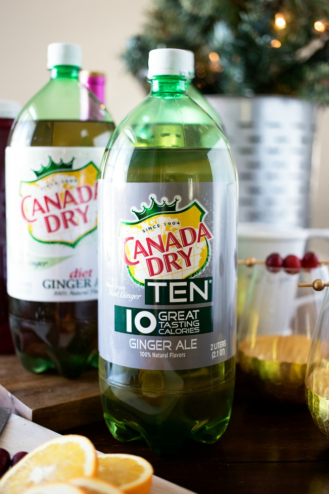 Canada Dry TEN - full flavor, only 10 calories!